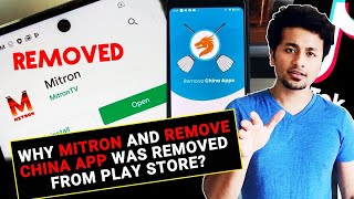 Why MITRON App Desi Version Of Tik Tok REMOVED From Google Play Store? | REAL REASON