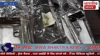 इंदौर क्राइम ब्रांच ने अवैध हथियार बनाने और बेचने वाले गिरोह को पकड़ा, 35 कट्टे और पिस्टल भी बरामद।