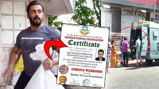 Salman Khan Honoured With Mother Teresa Award For His Social Work