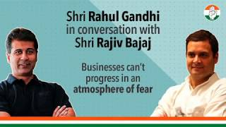 Watch Shri Rajiv Bajaj express his views on how an environment of fear impacts businesses