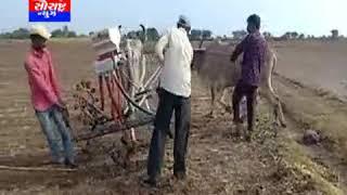 કેશોદ-વાતાવરણમાં બદલાવ આવતા ખેડૂતો દ્વારા વાવણી કરાય
