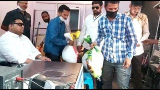 Mukram Ali Siddiqui Helps The Drivers Who Are Facing Problem In Hyderabad | @ SACH NEWS |