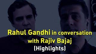 Highlights: Shri Rahul Gandhi in conversation with Shri Rajiv Bajaj on the COVID19 crisis