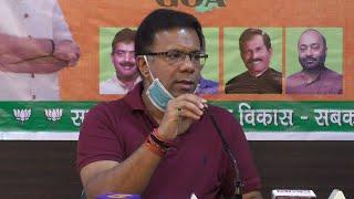 ????LIVE: Vishwajit Rane, Health Minister