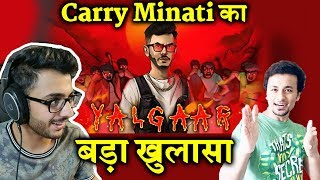 Carry Minati Shares YALGAAR First Poster And Thanks Fans For 20 M Subs