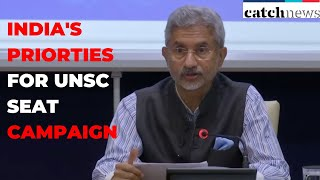 MEA Launches Brochure Outlining India's Priorities For UNSC Seat Campaign | Catch News