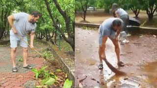 Salman Khan Cleans His Farmhouse, Gives STRONG Environment Day Message