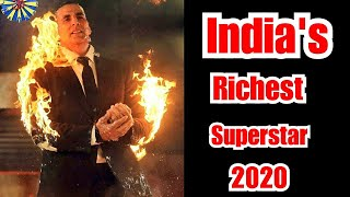 Akshay Kumar Becomes Only Bollywood Star To Enter Forbes 100 List Of World's Highest Paid Celebs2020