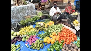 UP: Police Sub Inspector suspended after he crushed vegetables with his jeep in Prayagraj