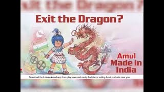 Twitter briefly restricts Amul account over 'Exit the Dragon' ad