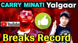 YALGAAR Record-Breaking Views And Likes | Trending NO. 1 Youtube | NEW Record