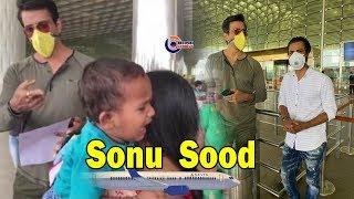 बसों के साथ-साथ हवाई जहाज से भी मजदूरों को उनके घर भेज रहे हैं Sonu Sood