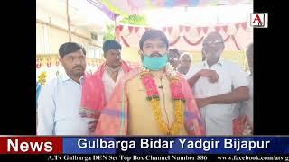 Gulbarga Lorry Owners Association Election Hanumantha Reddy Naya Sadar A.Tv News 7-6-2020