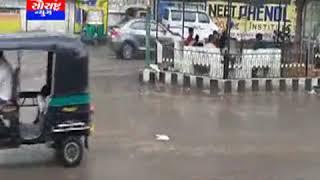 બગસરા-વરસાદ વરસતા મુખ્ય માર્ગો પર પાણી ભરાયા