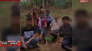 8 june news 15  बड़सर में the rising youth ngo  ओर मशाल ngo  की तरफ से पौधरोपण का किया गया कार्यक्रम