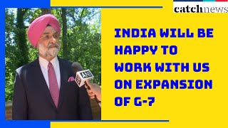 India Will Be Happy To Work With US On Expansion Of G-7: Ambassador Taranjit Singh Sandhu