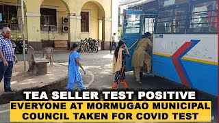 WATCH: Tea seller test positive for COVID19, everyone at MMC taken for COVID test!