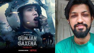 Janhvi Kapoor's Gunjan Saxena - The Kargil Girl To Release On Netflix ?