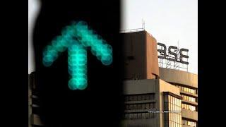 Sensex gains 290 pts, Nifty reclaims 10,100 level; IndusInd Bank rallies 10%