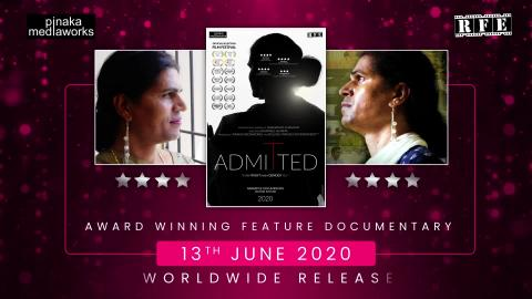 Watch Admitted Releasing on 13th June 2020 | Transgender Human Rights Documentary Video