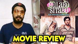 Gulabo Sitabo Movie REVIEW | Amitabh Bachchan, Ayushmann Khurrana | By RJ Divya Solgama