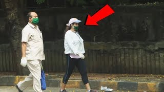Ekta Kapoor Spotted While Having A Walk At The Streets Of Juhu