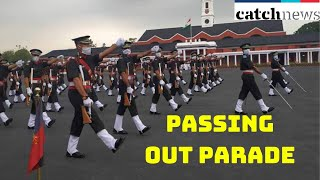 Passing Out Parade Held In Dehradun As Officers Join Indian Army | Catch News
