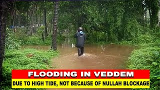 WATCH: Flooding of Merces Vaddem in Vasco due to high tide not due to blockage of nullah: MMC