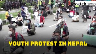 Hundreds Of Youth Protest In Nepal Against Government's Response To COVID-19 Crisis | CAtch News