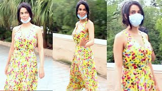 After TROLLED For Not Wearing Mask, Mallika Sherawat Now Steps Out With Mask