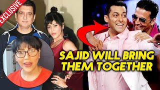 Sajid Nadiadwala's Wife Warda OPENS On Salman Khan And Akshay Kumar Film Together | Exclusive