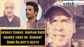 Akshay Kumar, Anupam Kher Shares Video On Mental Health After Sushant Singh Rajput's death