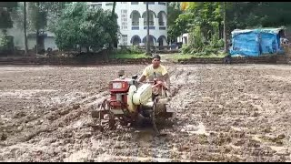 Believe it or not: This12-year-old boy tilled 10,000 Sq. Mts of paddy alone!