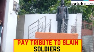 India-China Border Face-Off: Locals In Varanasi Pay Tribute To Slain Soldiers | Catch News