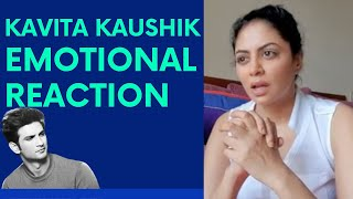 Kavita Kaushik Emotional Reaction On Sushant Singh Rajput's Death | Catch News