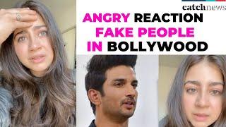 Sushant Singh Rajput Death: Aditi Bhatia Blasts Fake People In Bollywood | Viral Video Sushant Singh