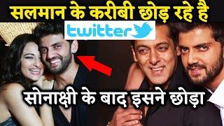 After Sonakshi, Salman's Close Zaheer Iqbal QUITS Twitter | Sushant Singh Rajput Nepotism Debate