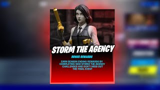 STORM THE AGENCY
