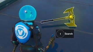 Fortnite Hidden Secret Reward at the Agency