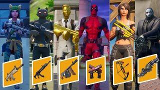 I Killed All 6 Bosses In One Game Fortnite
