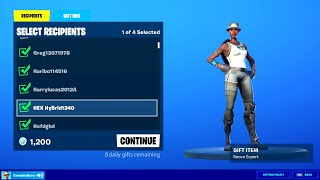 Gifting Recon Expert Skin (How to Get Free)