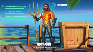 Fortnite Whirlpool at Fortilla Aquaman Challenge Reward