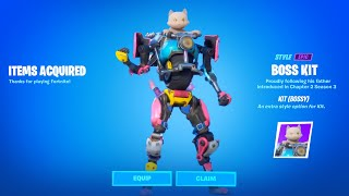 Fortnite New Boss Kit Catty Corner Vault Reward