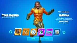 Fortnite Aquaman Week 1 Reward