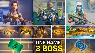 Eliminating All 3 New Bosses in one game (Boss Kit, Boss Ocean, Boss Jules) Vault & Mythic Weapons