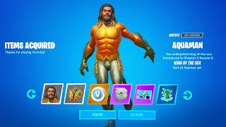 Claim 9 Free Rewards at the Aquaman Cave