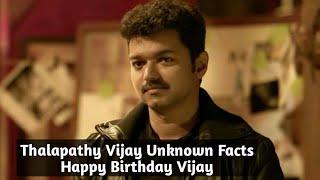 Thalapathy VIJAY Unknown Facts - Happy Birthday Vijay
