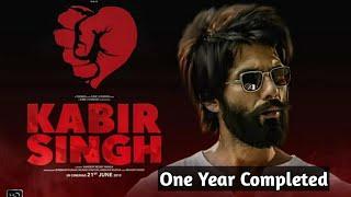 Kabir Singh Completed 1 Golden Year - Shahid Kapoor & Kiara Advani - Bollywoodflash