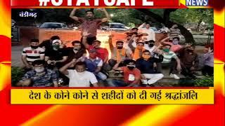 CHANDIGARH : सेक्टर 29 में समाजसेवी युवाओं ने शहीदों को श्रद्धांजलि दी ! ANV NEWS CHANDIGARH !