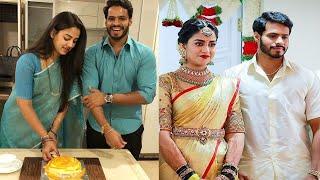 After Marriage Revathi Nikhil Gowda Birthday Celebration | Nikhil Kumaraswamy
